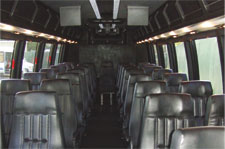 charter bus seating
