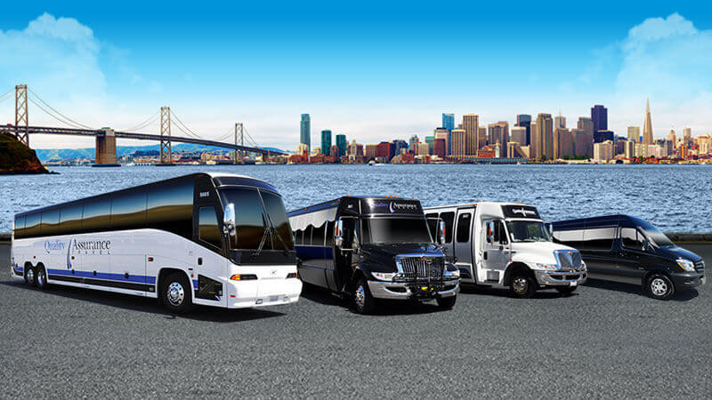 Bus Charter Services, Charter Bus Rentals - San Francisco